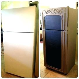 stainless-steel-paint-before-and-after-stainless-steel-appliance-paint-chalkboard-paint-for-fridge-fridge-makeover-chalk-paint-in-french-linen-and-stainless-steel-appliance-pa